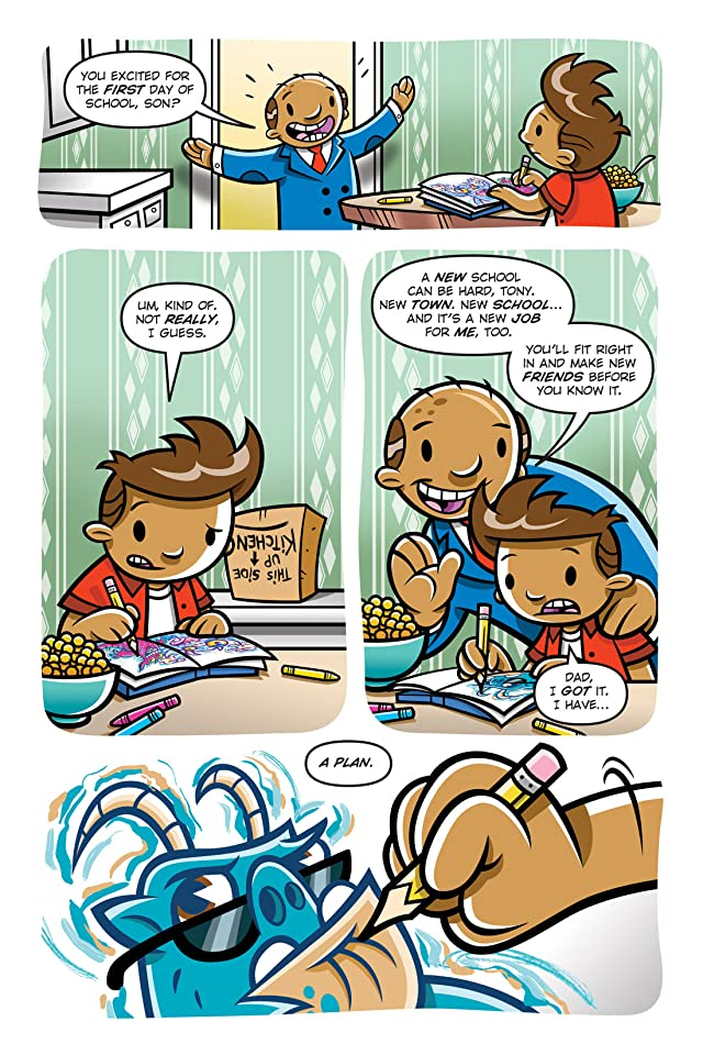 click for super-sized previews of Sketch Monsters Vol. 2: New Kid