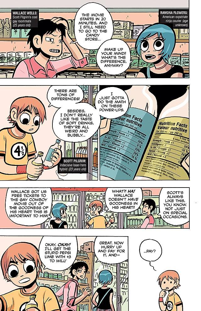 Scott Pilgrim Free Comic Book Day Story