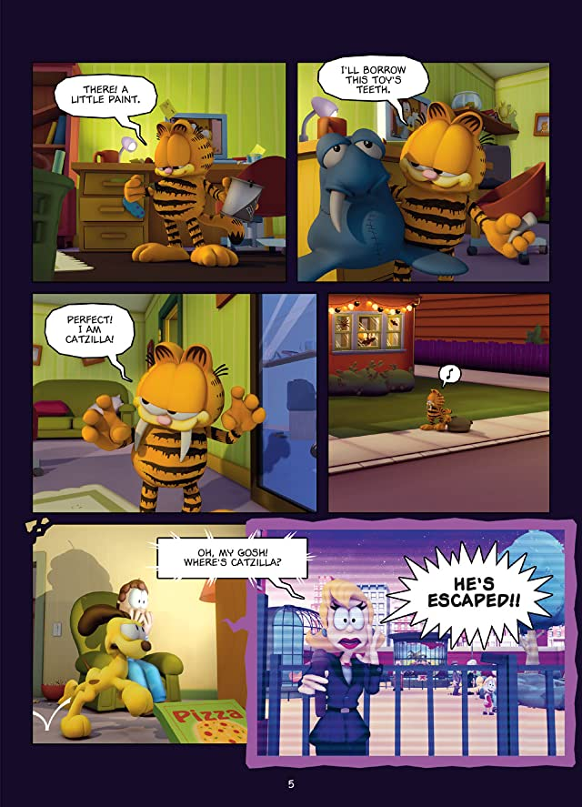 Garfield and Company Vol. 3: Catzilla Preview
