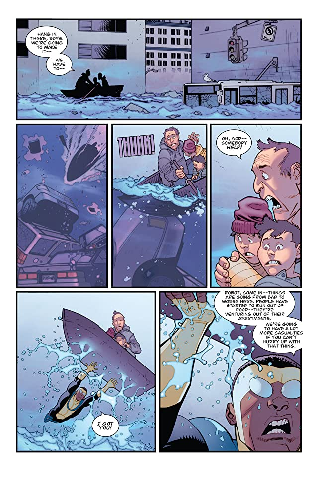 click for super-sized previews of Invincible #100