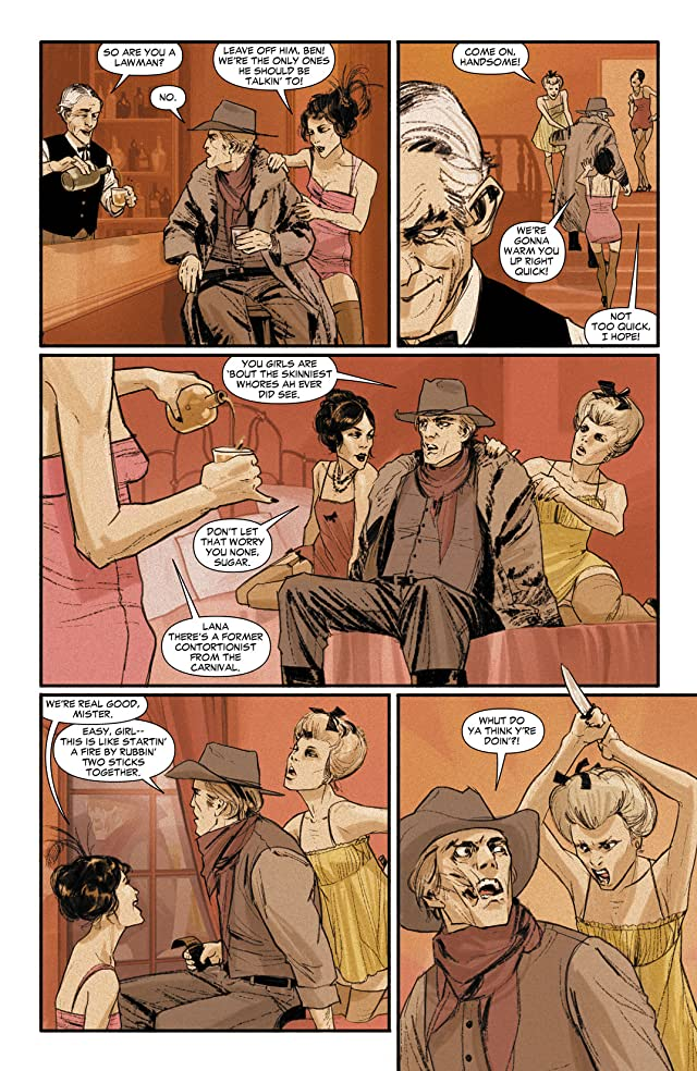 click for super-sized previews of Jonah Hex (2006-2011) #66