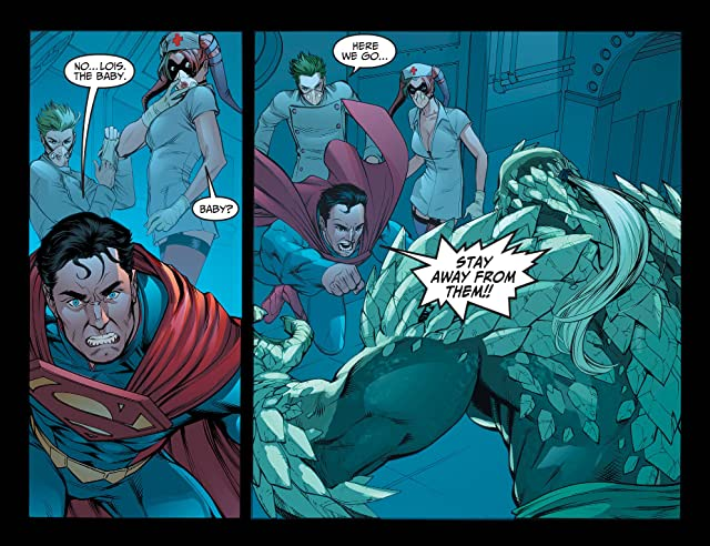 click for super-sized previews of Injustice: Gods Among Us (2013) #3