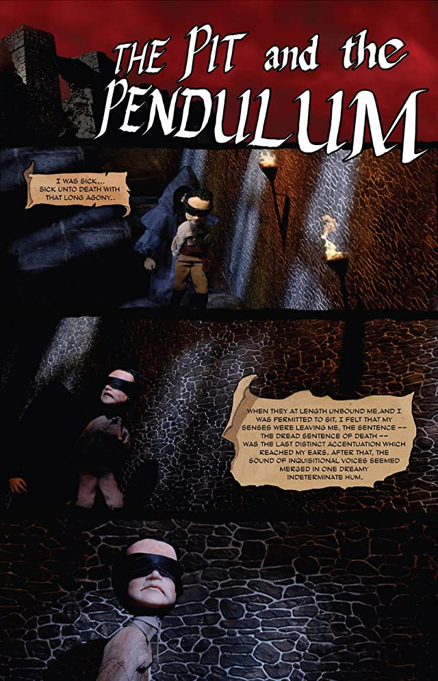 click for super-sized previews of Ray Harryhausen Presents: Pit and the Pendulum