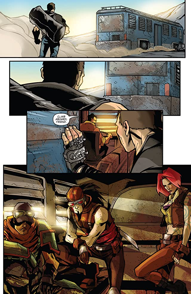 click for super-sized previews of Borderlands: Origins #4