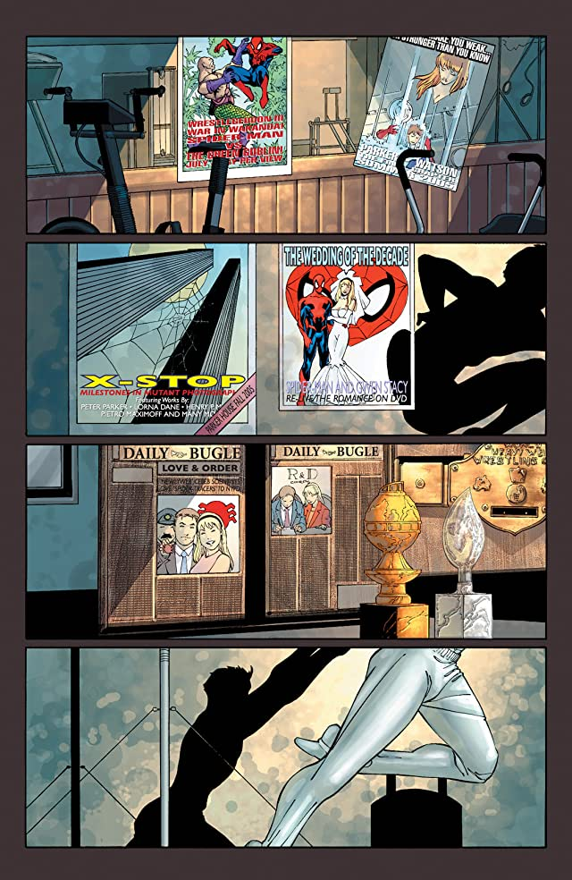 click for super-sized previews of Spider-Man: House Of M #1