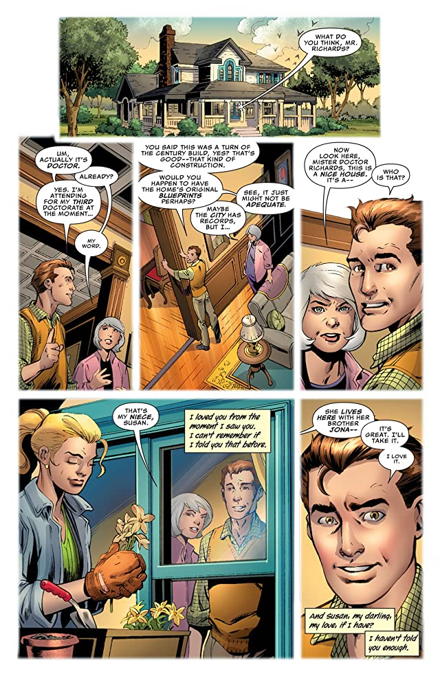 click for super-sized previews of Fantastic Four (2012-2014) #4