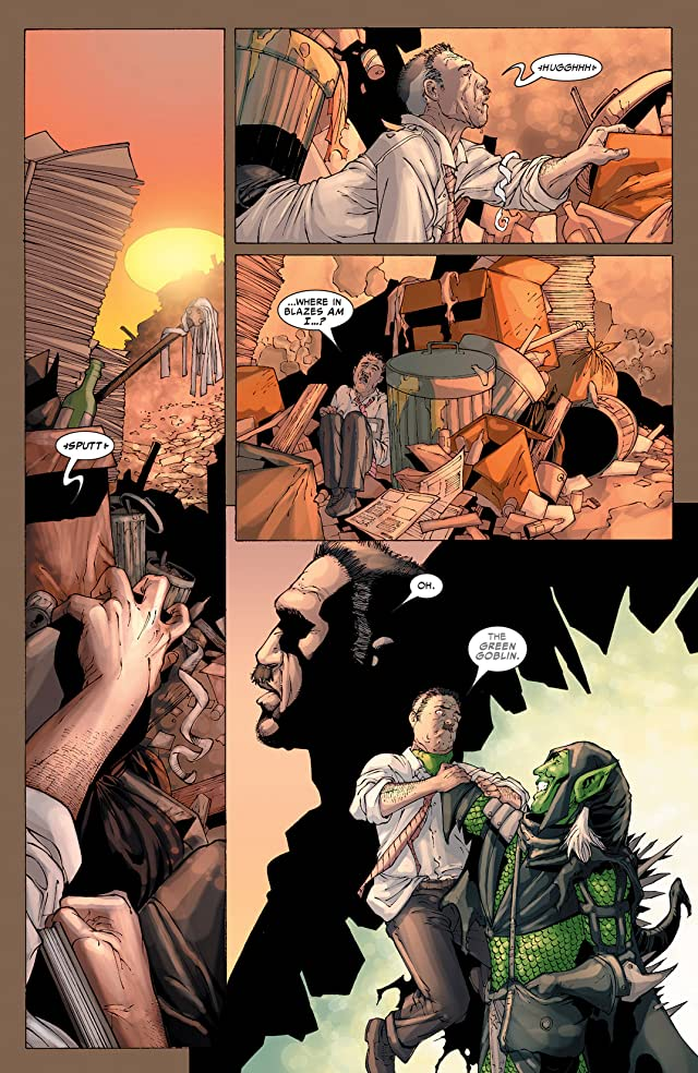 click for super-sized previews of Spider-Man: House Of M #2