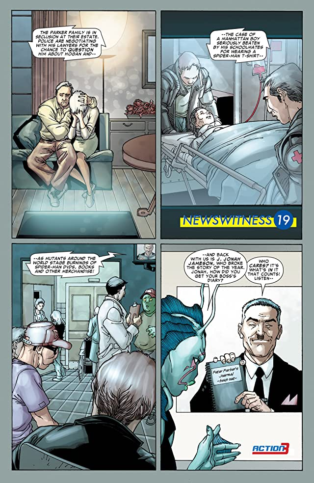 click for super-sized previews of Spider-Man: House Of M #3