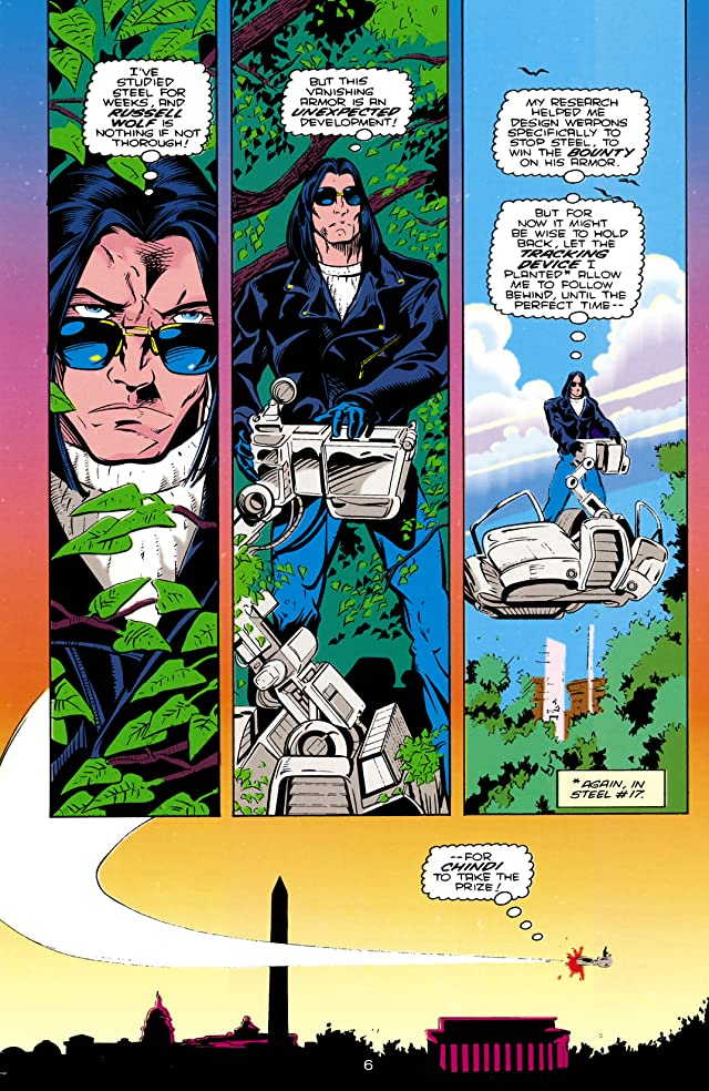 click for super-sized previews of Steel (1994-1998) #18