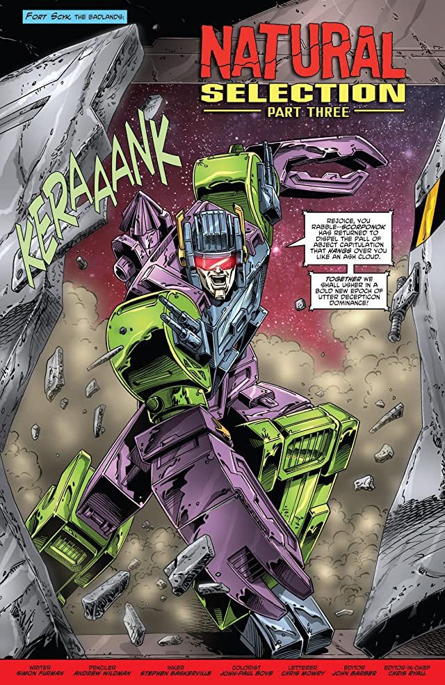 click for super-sized previews of Transformers: Regeneration One #88