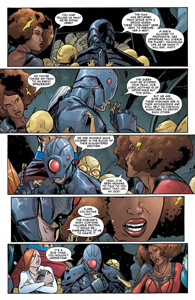 click for super-sized previews of Heroes For Hire (2006-2007) #12
