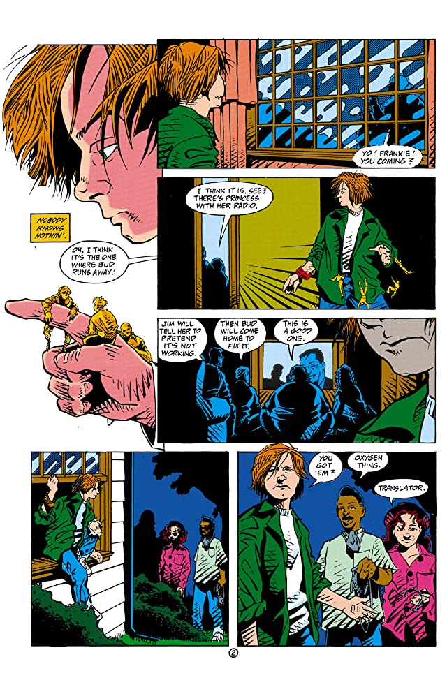 Green Lantern: Mosaic #4