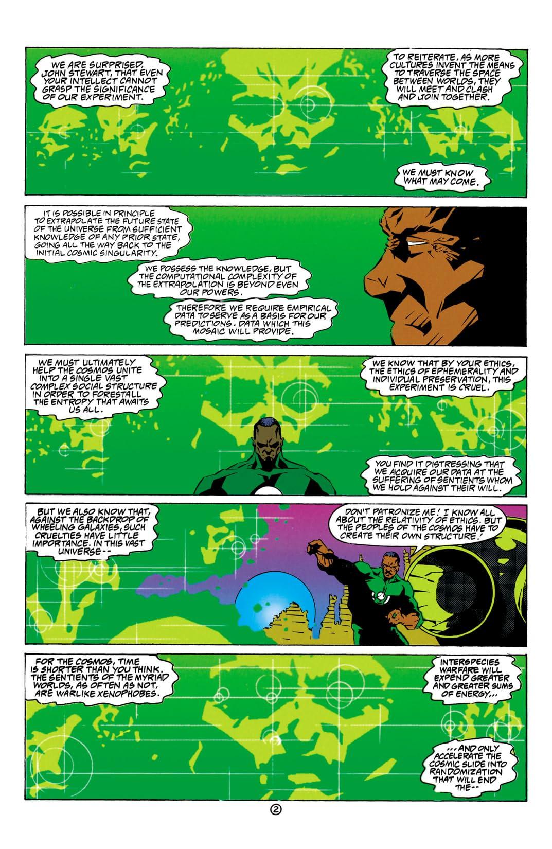Green Lantern: Mosaic #10