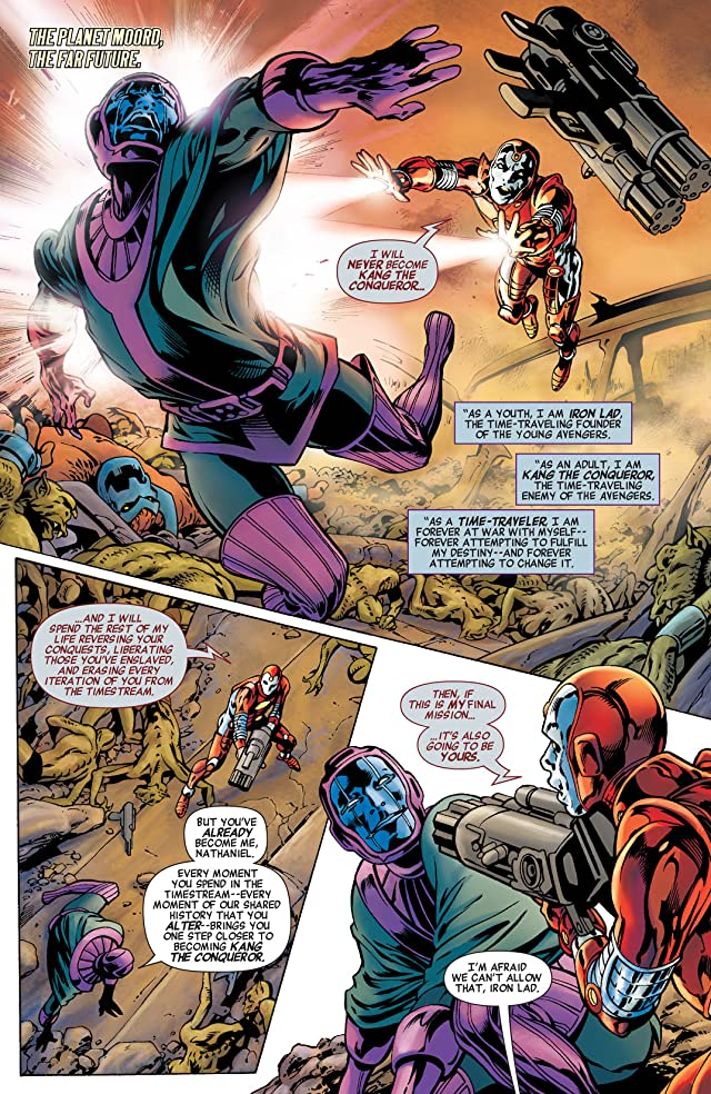 click for super-sized previews of Avengers: The Children's Crusade - Young Avengers #1
