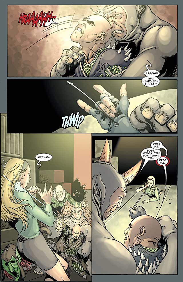 click for super-sized previews of Spider-Man: House Of M #4
