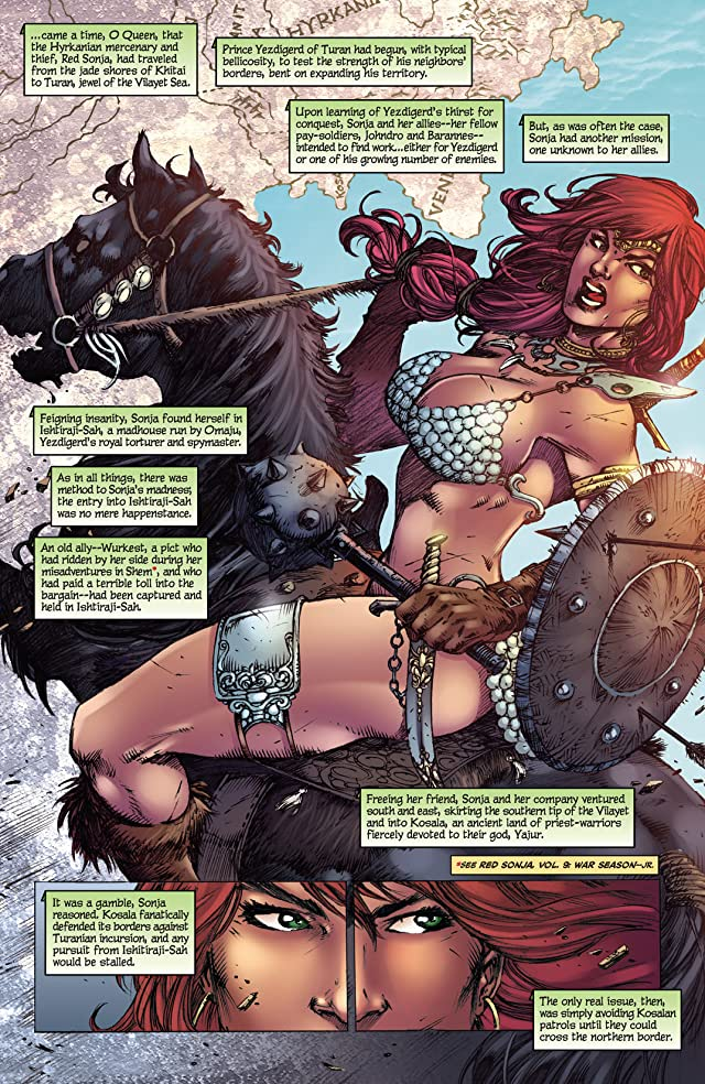 click for super-sized previews of Red Sonja: She-Devil With A Sword #73