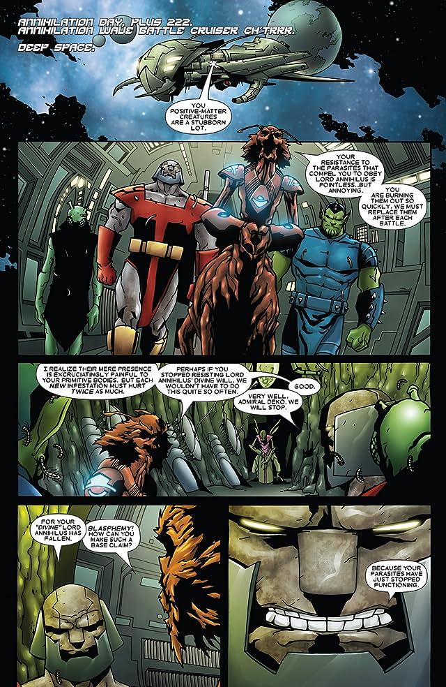 Annihilation: Heralds of Galactus #1 (of 2)