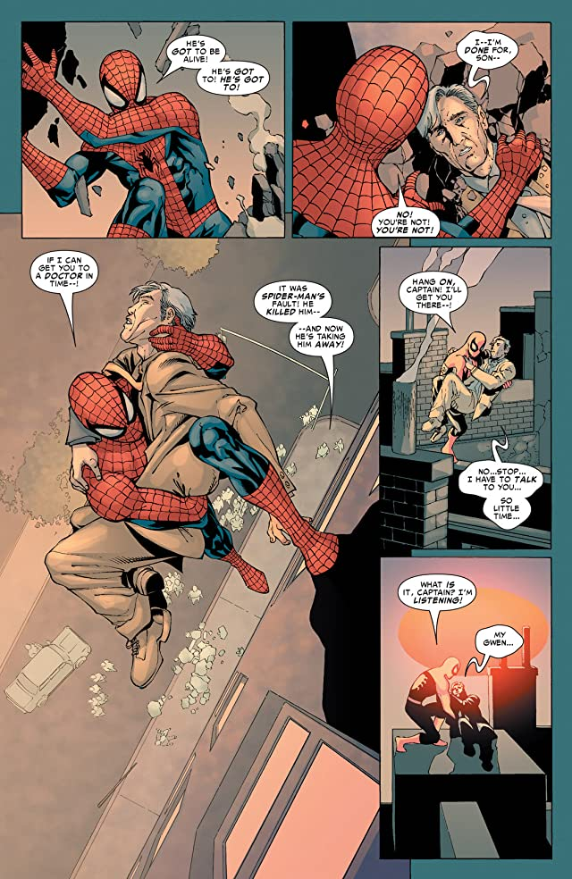 click for super-sized previews of Spider-Man: House Of M #5