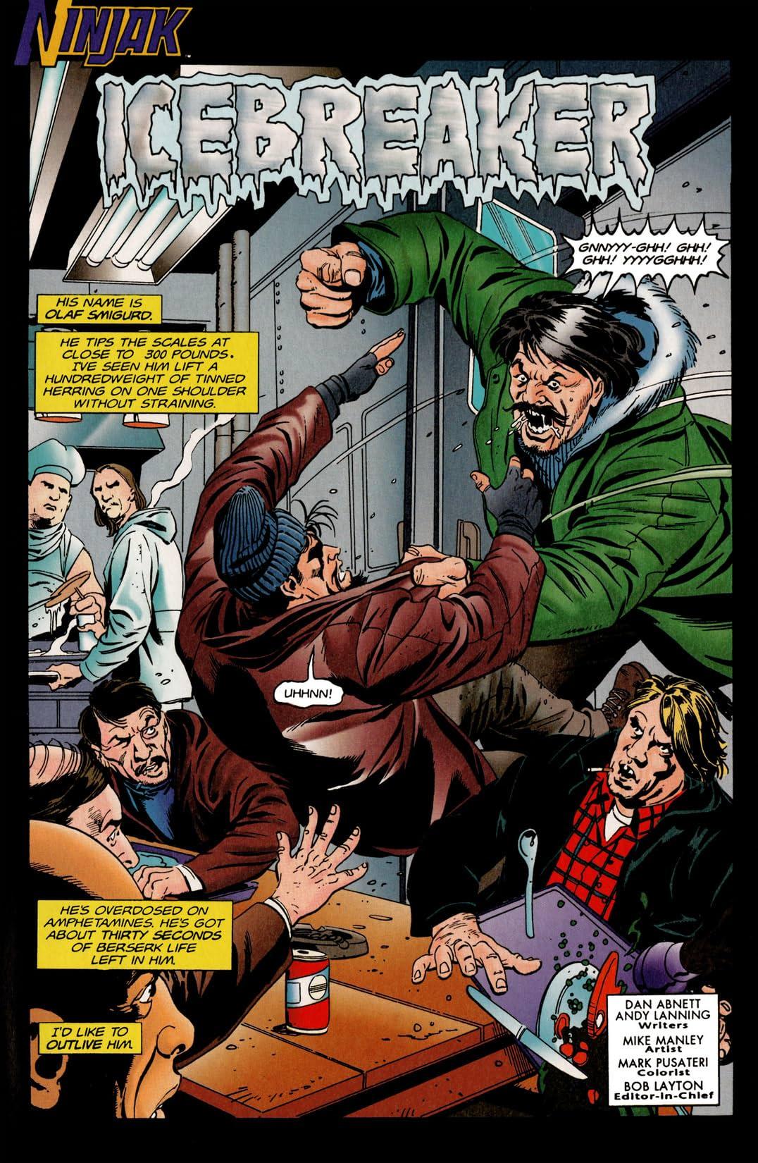 Ninjak (1994-1995) #18