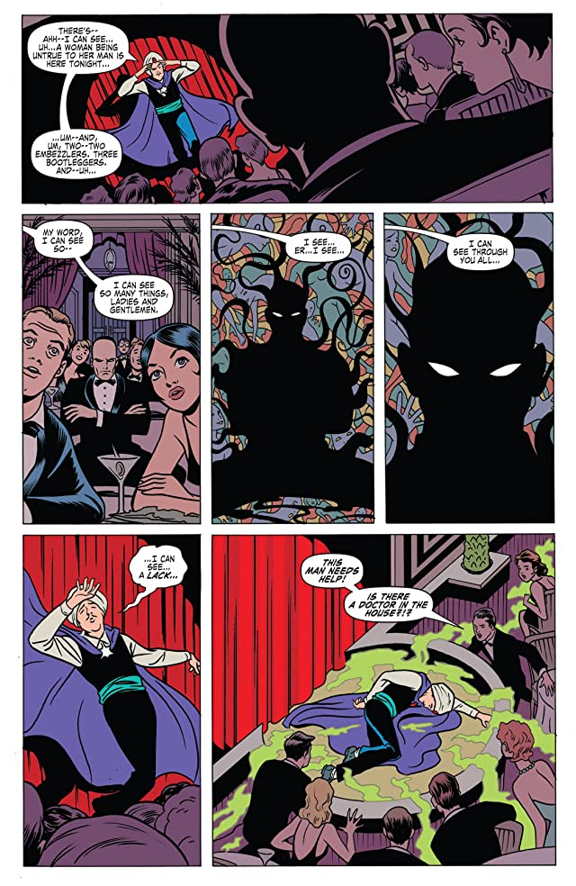 click for super-sized previews of Immortal Iron Fist: Orson Randall and the Green Mist of Death