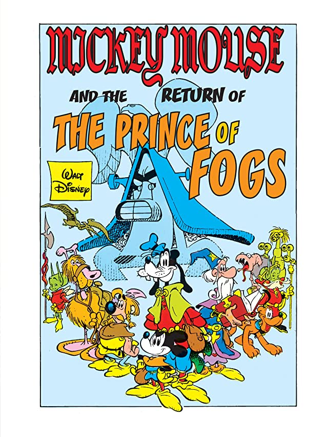 click for super-sized previews of Mickey Mouse in the Sword of Ice #4: Return of the Prince of Fogs