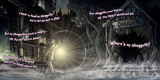 click for super-sized previews of Where's My Shoggoth?