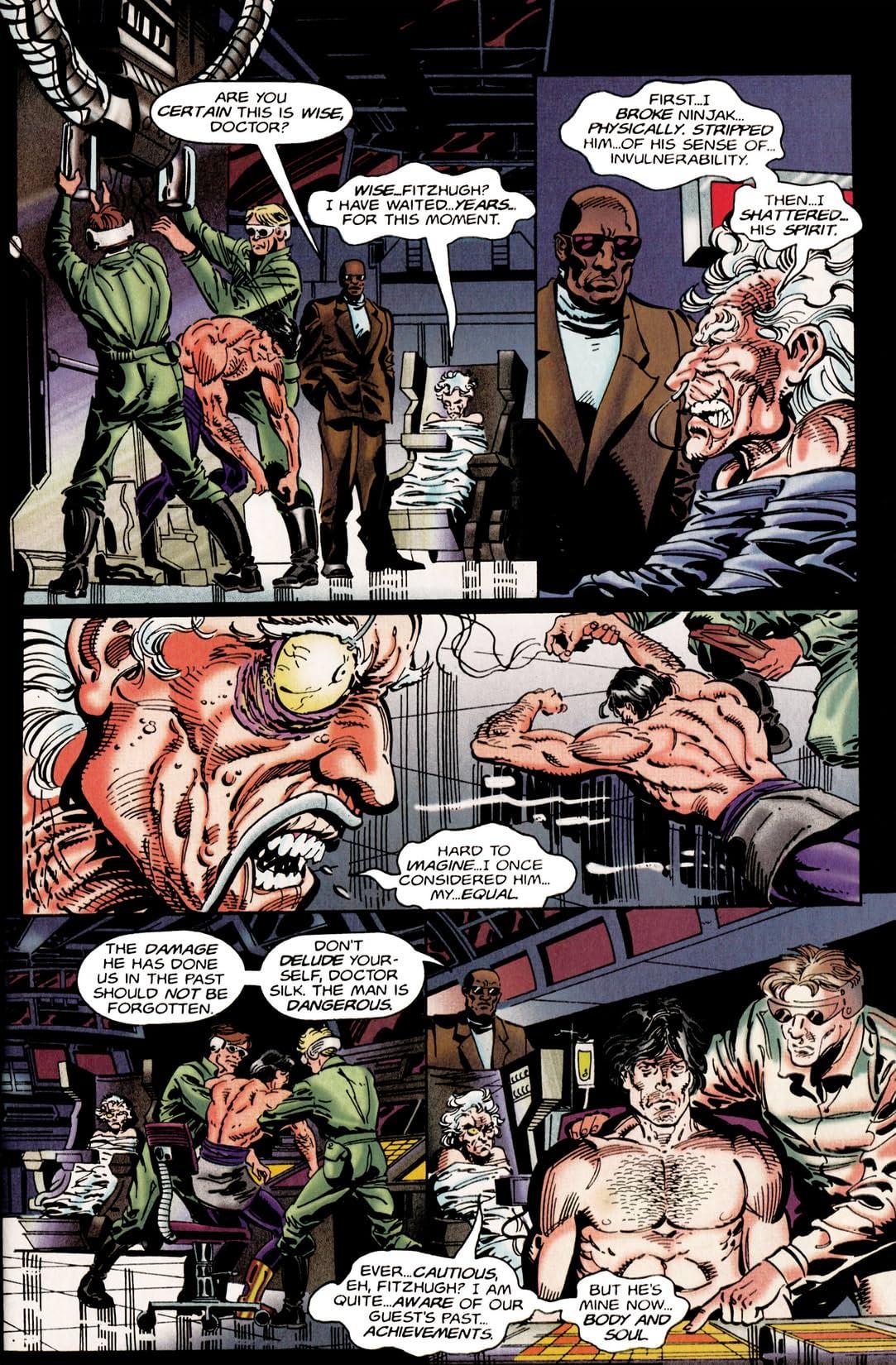 Ninjak (1994-1995) #21