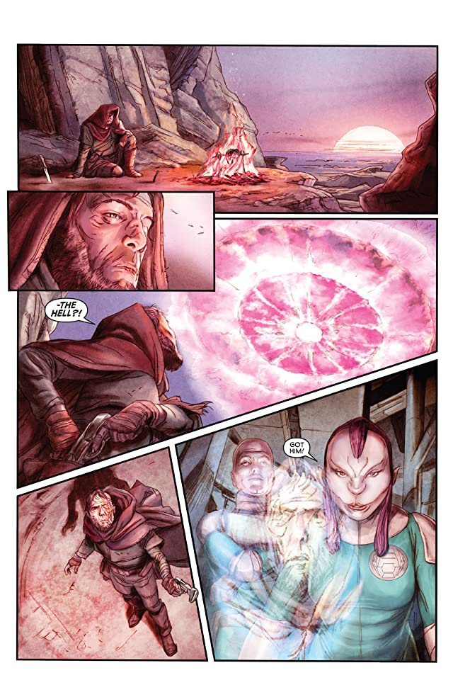 click for super-sized previews of Storm Dogs #3 (of 6)