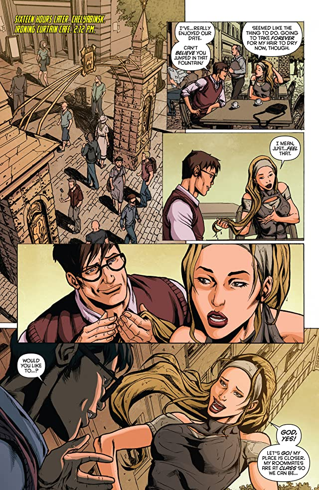 click for super-sized previews of The Bionic Woman #8