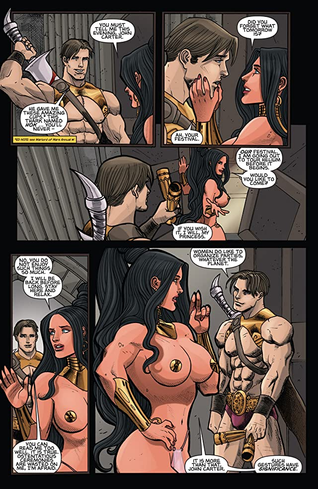 click for super-sized previews of Dejah Thoris and the Green Men of Mars #1 (of 12)