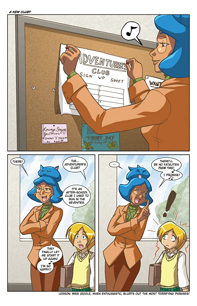 click for super-sized previews of Gold Digger: Tifanny & Charlotte #2