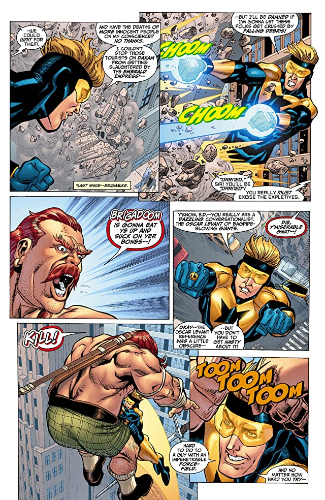 click for super-sized previews of Booster Gold (2007-2011) #33