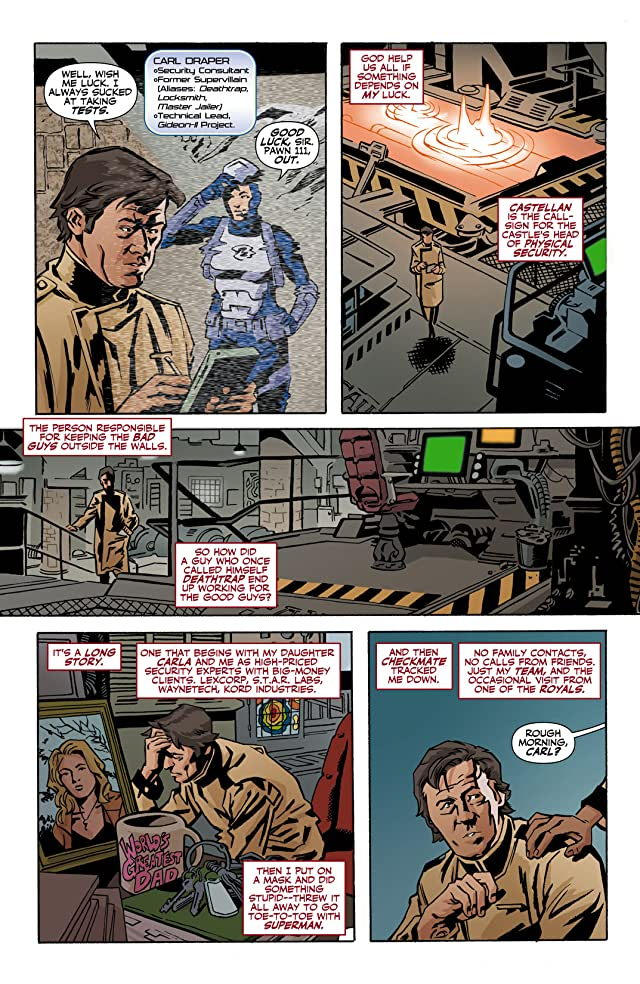 click for super-sized previews of Checkmate (2006-2008) #17