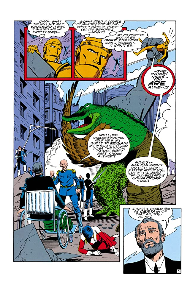 click for super-sized previews of Doom Patrol (1987-1995) #16