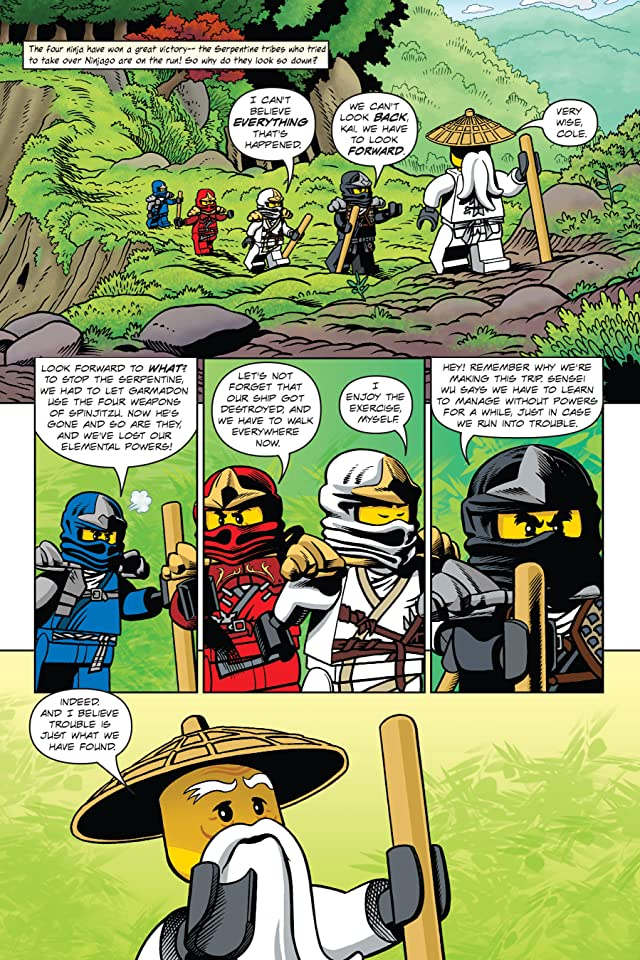 click for super-sized previews of Ninjago Vol. 6: Warriors of Stone Preview