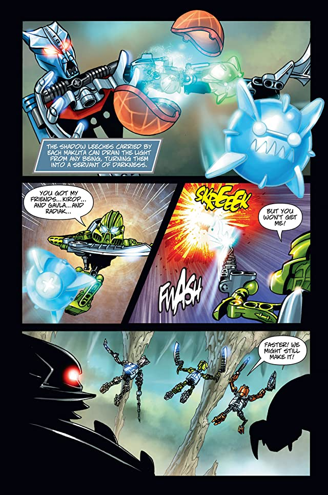 click for super-sized previews of Bionicle Vol. 7: Realm of Fear Preview