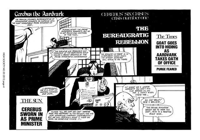 click for super-sized previews of Cerebus Vol. 2 #20: High Society