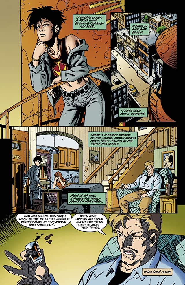 click for super-sized previews of Wonder Woman (1987-2006) #143