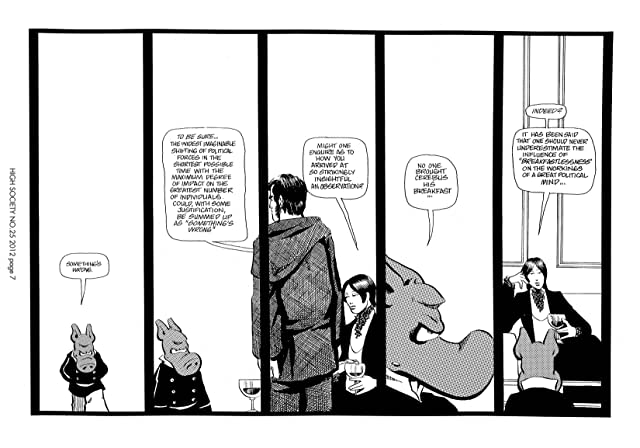 Cerebus Vol. 2 #25: High Society