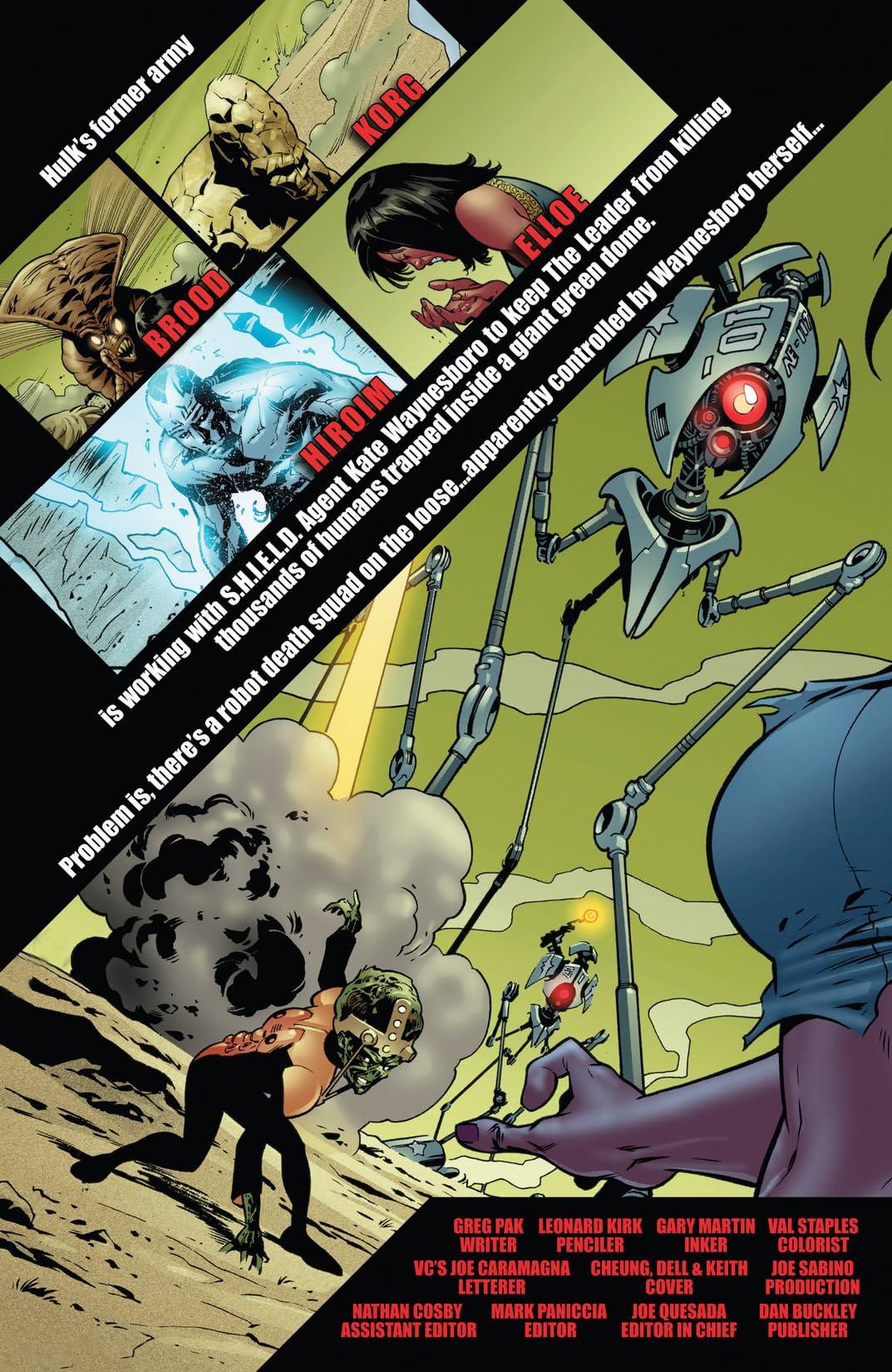 World War Hulk Aftersmash: Warbound #5 (of 5)
