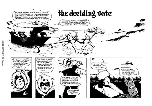click for super-sized previews of Cerebus Vol. 2 #19: High Society