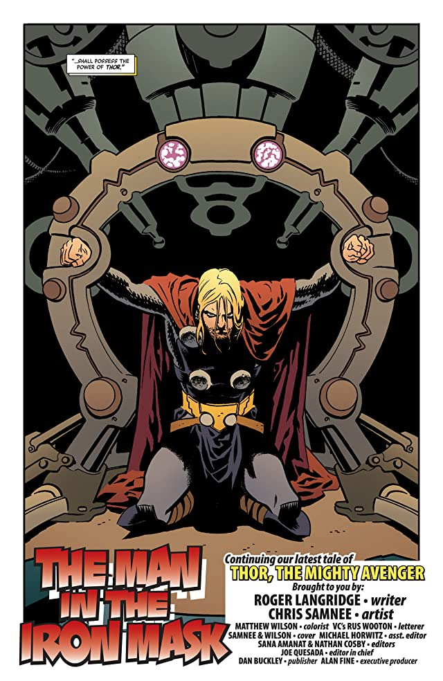 click for super-sized previews of Thor: The Mighty Avenger #8