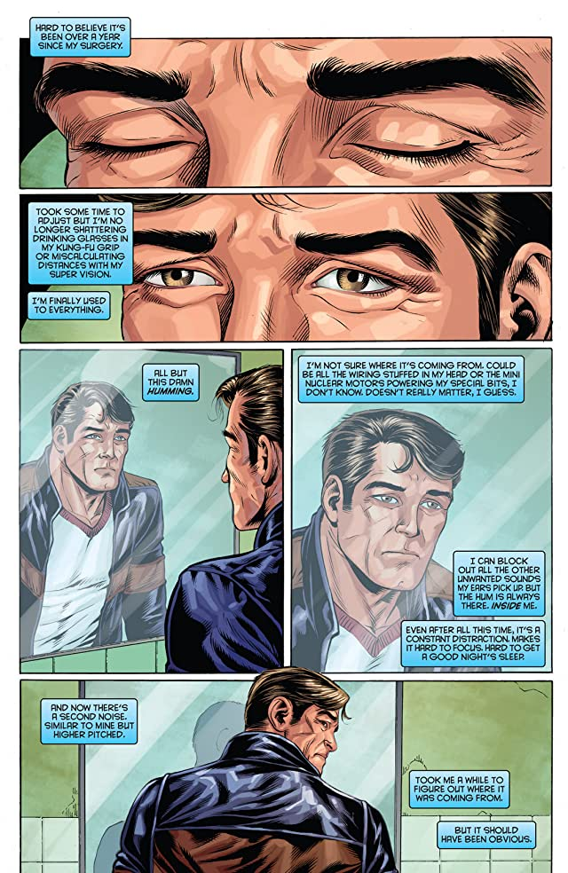 click for super-sized previews of The Bionic Man #16