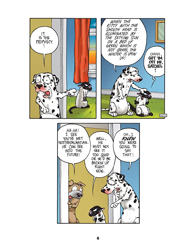 click for super-sized previews of Get Fuzzy Vol. 9: Loserpalooza