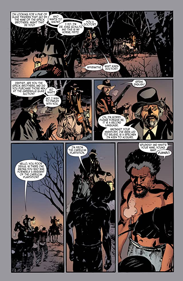 click for super-sized previews of Django Unchained #1