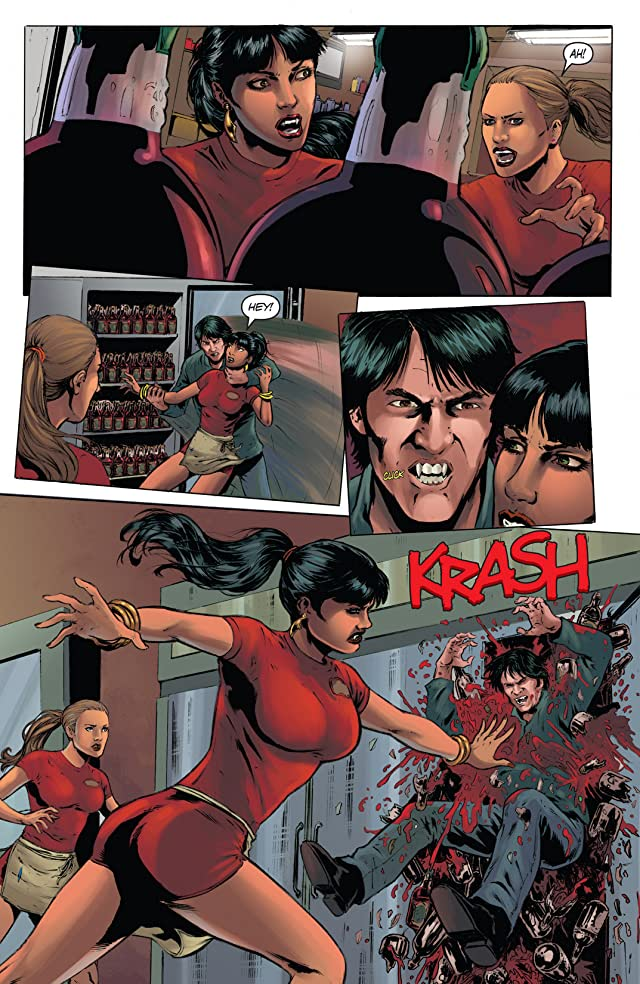 click for super-sized previews of Vampirella: Nublood