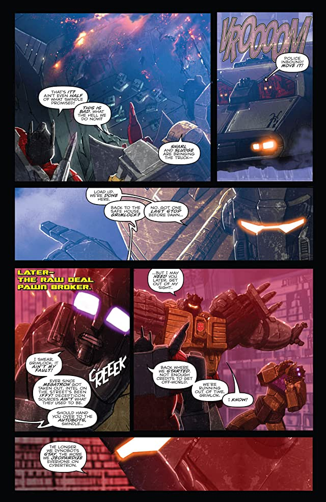 click for super-sized previews of Transformers: Monstrosity #1