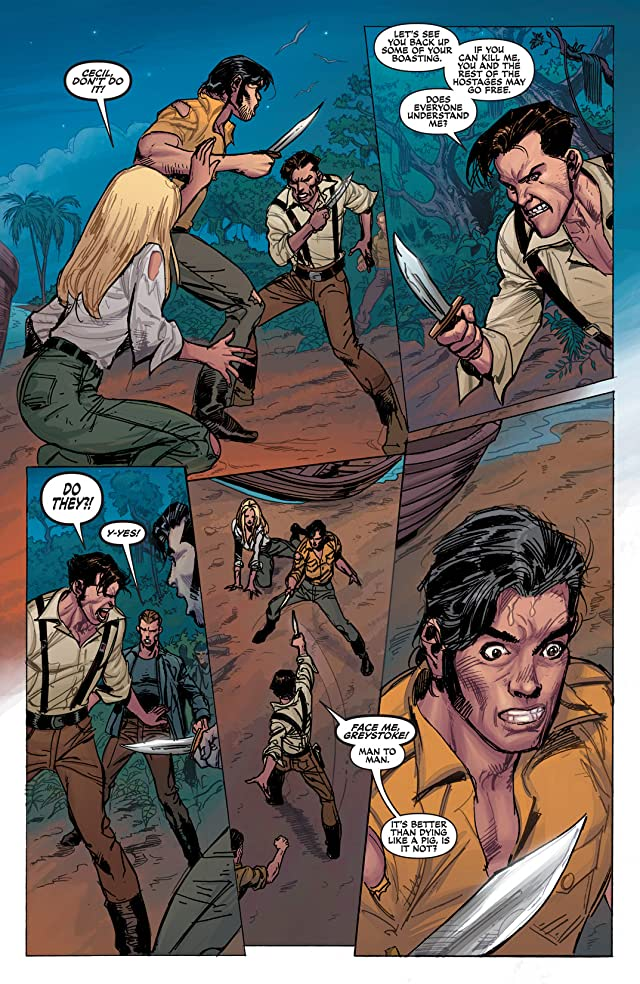 click for super-sized previews of Lord of the Jungle #13