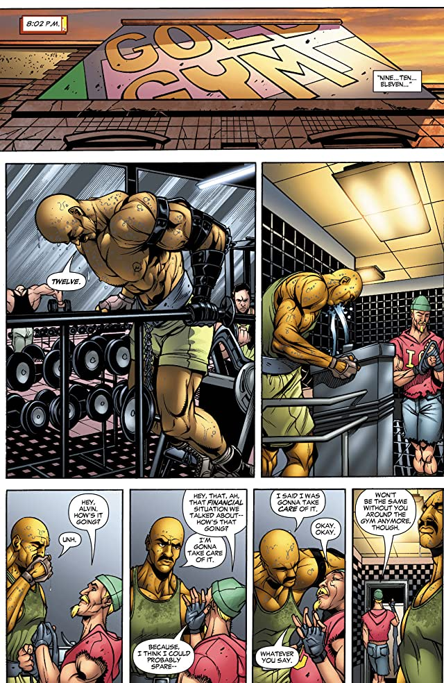 click for super-sized previews of Firestorm: The Nuclear Man (2004-2007) #5