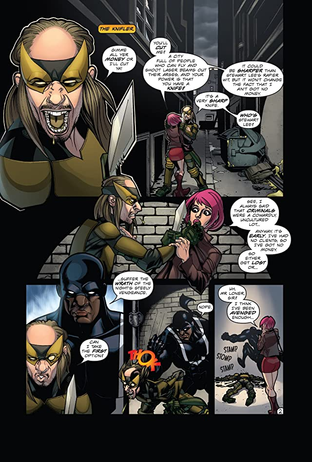 click for super-sized previews of Hero: 9 To 5 #5: Quietus